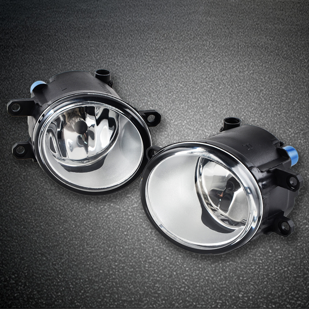 Front Clear Fog Lights W   Switch Wring Kit For Toyota